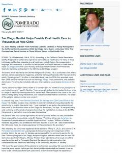 San Diego dentist, fillings, dentures, dental care, Pomerado Cosmetic Dentistry, Dr. Jason Keckley
